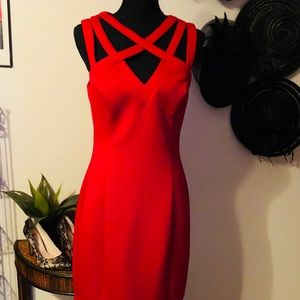Guess Red Party Dress